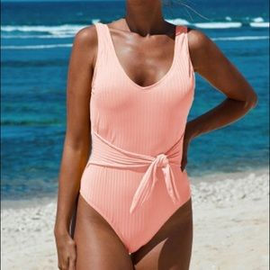NWT Light Peachy Pink Swimsuit